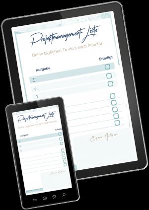 Deine tägliche Checkliste im Projektmanagement.